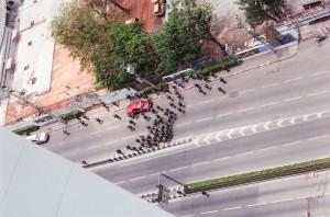 ทหารบนถ.พระราม 4
